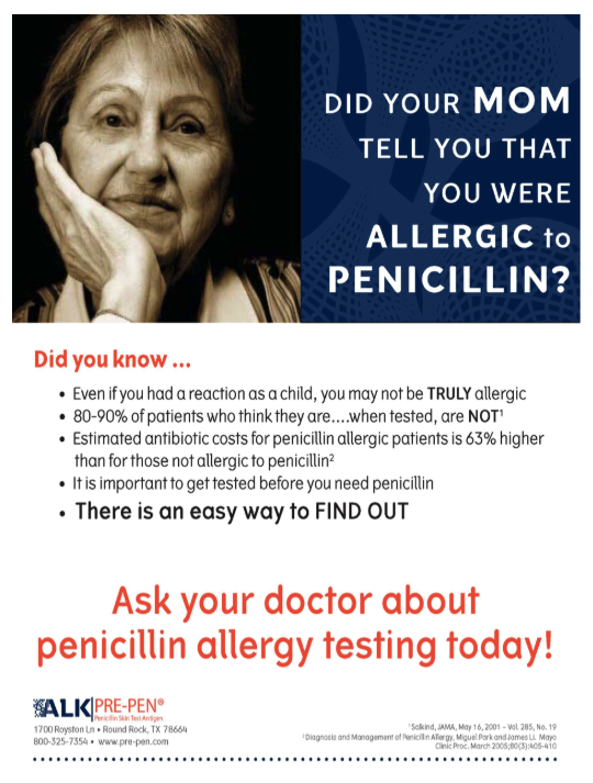 Penicillin Allergy Testing