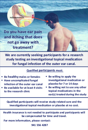 ear pain research study