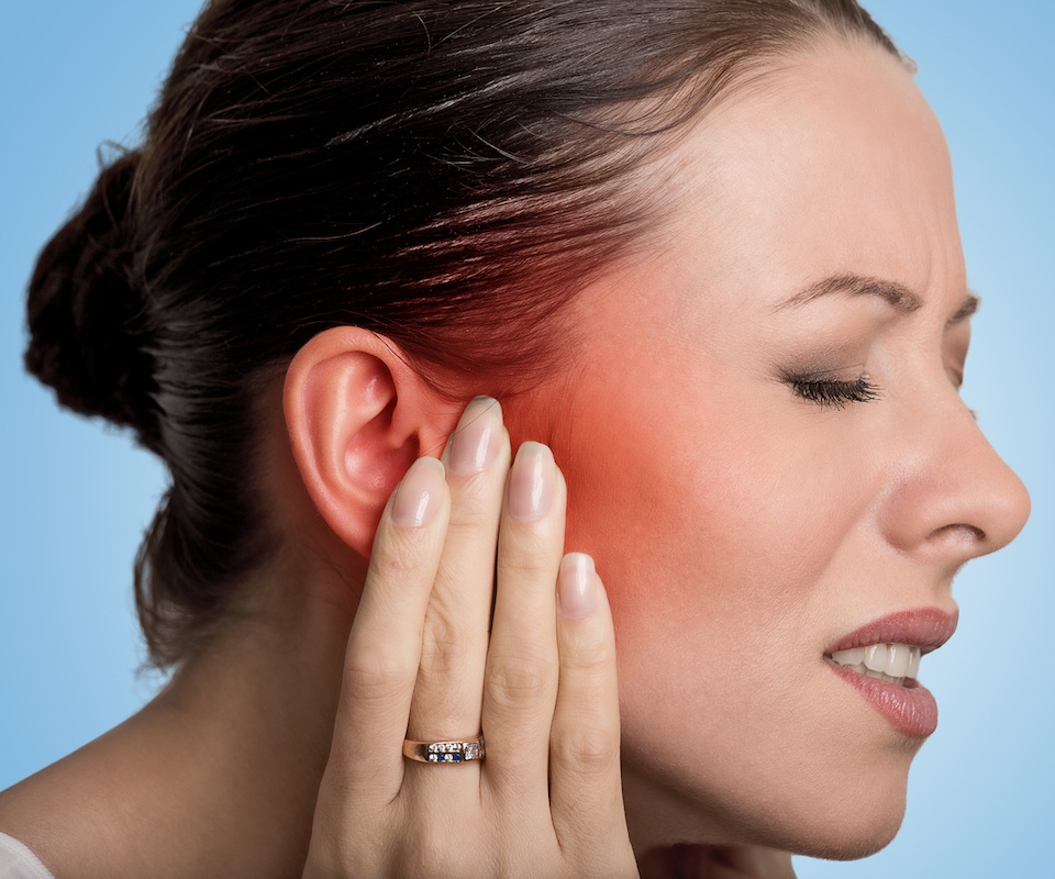 hearing loss caused by ear infections