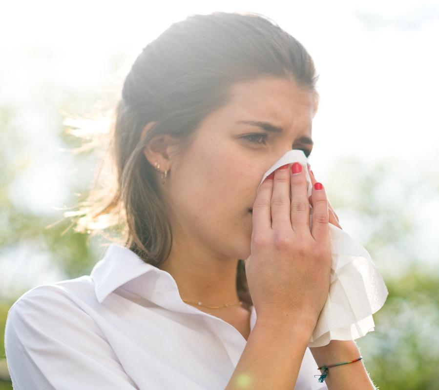 allergy headaches